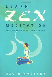 Learn Zen Meditation by David Fontana