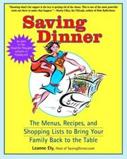 Saving Dinner PDF