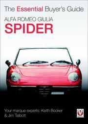 Alfa Romeo Giulia Spider (Essential Buyer's Guide) PDF