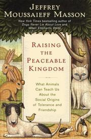 Raising the Peaceable Kingdom PDF