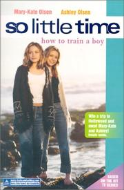 How to train a boy by Jacqueline Carrol