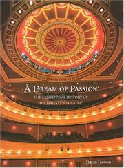 A dream of passion by David Hough