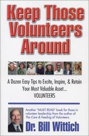 Keep Those Volunteers Around PDF