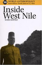 Inside West Nile by Mark Leopold