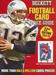 Beckett Football Card Price Guide by James Beckett
