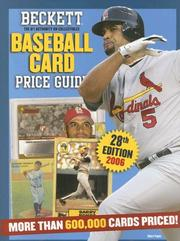 Beckett Baseball Card Price Guide by James Beckett
