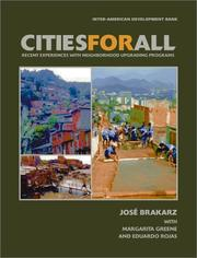 Cities for All by Jose Brakarz