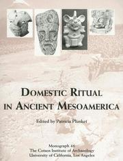 Domestic Ritual in Ancient Mesoamerica (Monograph (Cotsen Institute of Archaeology at Ucla), 46.)