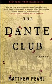 The Dante Club by Pearl, Matthew