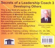 Secrets of a Leadership Coach 3 PDF