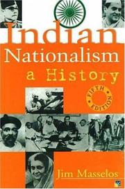 Indian nationalism by Jim Masselos