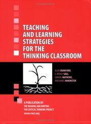 Teaching and learning strategies for the thinking classroom PDF
