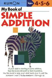 My Book Of Simple Addition PDF