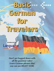 Basic German for Travelers PDF