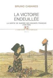 La victoire endeuillee by Bruno Cabanes