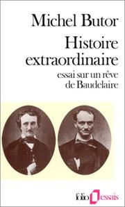 Histoire extraordinaire by Butor, Michel.