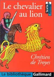 Yvain, le Chevalier au lion PDF