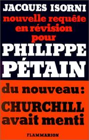 Nouvelle requête en révision pour Philippe Pétain