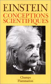 Conceptions scientifiques by Albert Einstein