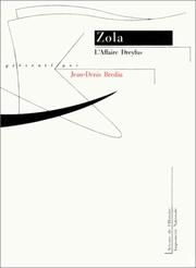 Cover of: L' affaire Dreyfus by Émile Zola