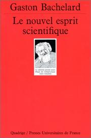 Le nouvel esprit scientifique by Gaston Bachelard