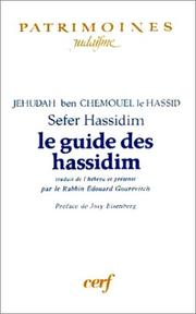 Sefer ḥasidim by Judah ben Samuel