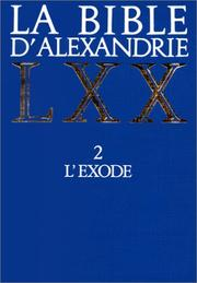 Bible dAlexandrie, tome 2