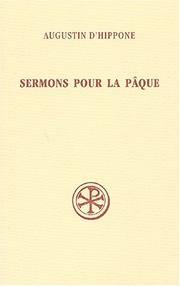 Sermons pour la Pque by Augustine of Hippo