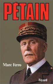Pétain by Marc Ferro