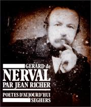 Gérard de Nerval by Jean Richer