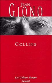 Colline by Jean Giono