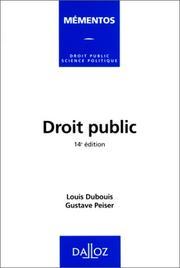 Droit public PDF