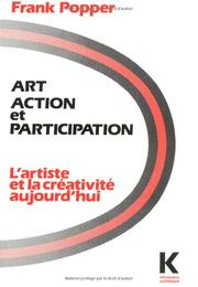 Art-action-participation by Frank Popper