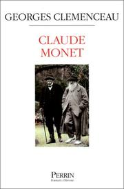 Claude Monet by Clemenceau, Georges
