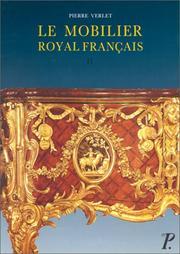 Le mobilier royal fran PDF