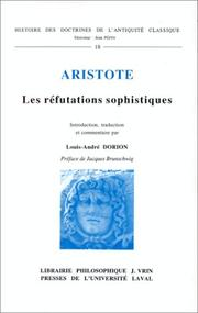 De sophisticis elenchis by Aristotle
