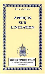 Aperçus sur l'initiation by René Guénon