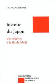 Histoire du Japon by Francine Hrail