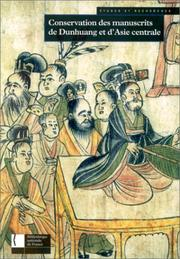 Conservation des manuscrits de Dunhuang et d'Asie centrale
