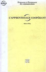 L' apprentissage coopérant by Robert Pléty