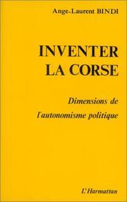 Inventer la Corse PDF