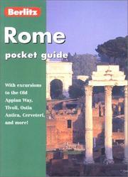 Berlitz Rome Pocket Guide (Berlitz Pocket Guide Rome) PDF