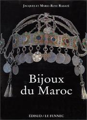 Cover of: Bijoux du Maroc by Jacques Rabaté