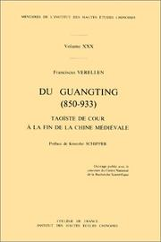 Du Guangting (850-933) by Franciscus Verellen
