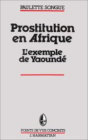 Prostitution en Afrique by Paulette Beat-Songue