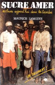 Sucre amer by Maurice Lemoine