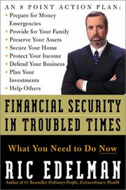 Financial Security in Troubled Times PDF