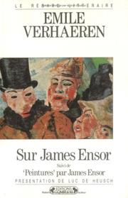 James Ensor by Emile Verhaeren