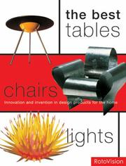 The best tables, chairs, lights by Mel Byars