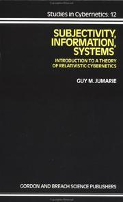 Subjectivity, information, systems PDF
